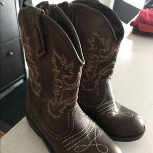 Other - Girls Cowboy Boots size 9